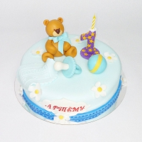 торт мальчику на годик заказать в Санкт-Петербурге