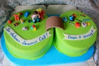 торт на выпускной из детского сада заказать в Санкт-Петербурге