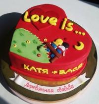 торт на годовщину заказать в Санкт-Петербурге