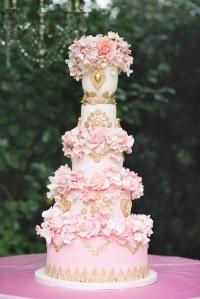 пятиярусный мастичный торт заказать в Санкт-Петербурге
